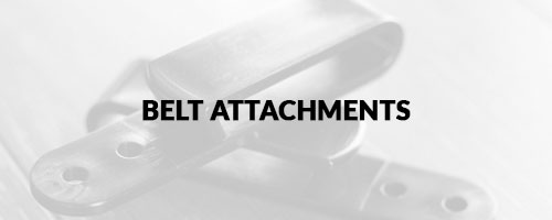 Belt Attachments at Holster Builder
