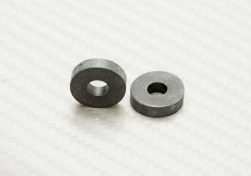 Black Rubber Spacer 1/8 inch