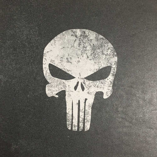 Punisher on Black