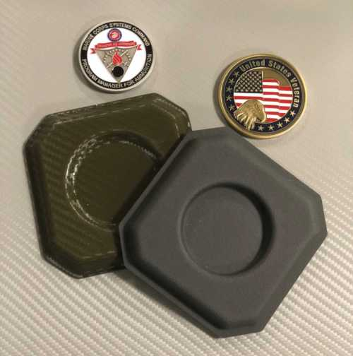 Challenger Coin Coasters 001