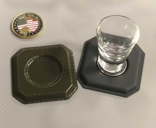 Challenger Coin Coasters 002