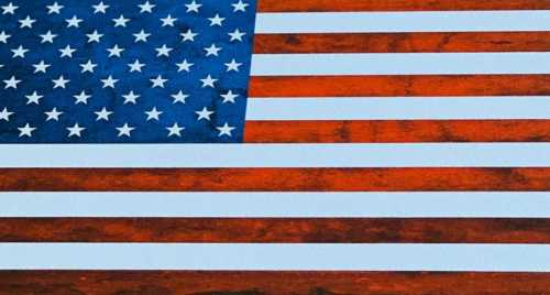 USA Flag RoyaliteHG Sheet Stock